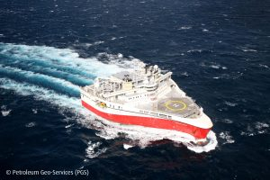Ramform Atlas from PGS's seismic fleet