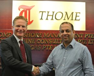 Stephen Alexander, COO and Secretary General of IMPA with Ryan Dalgado, Procurement and Supply Chain Manager of Thome Ship Management.