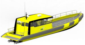 The Tuco designed and built 16m surfer crew boat will be marketed by MarinOIL for offshore crew supply operations