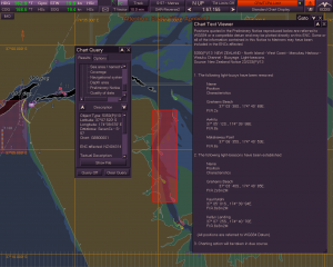 AIO-compatible ECDIS shown in operation off the coast of New Zealand