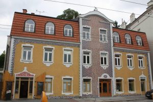 Modernist houses, Brno.