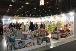 Handbags galore at STYL exhibition.