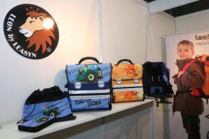 Schoolbags in fashion.
