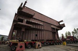 High-Speed Shipdock antiroll retrofit onto GulfMark PSV (1)