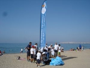 Cleanup of Edem Beach by Danaos Shipping
