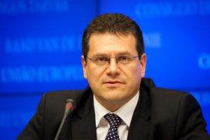 EU Transport and Space Commissioner Maroš Šefčovič
