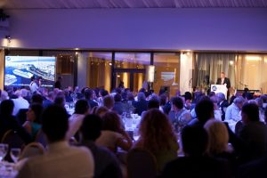 A reception hosted by Group CEO Claus Hyldager was the finale of the ISS annual senior management conference in Athens
