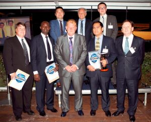 ISS Employee of the Year finalists with Group CEO Claus Hyldager.