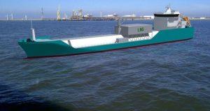 LNG bunkering barge for GDF