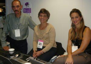 ATHEX's Christos Poulakidas, head of Market Analysis, Alexandra Grispou, head of Communication and Public Relations, and Christina Kosma