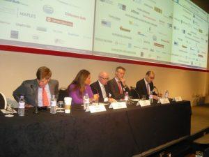 Bob  Burke, Eri Tsironi, Chris Conway, Bob Vegelzang and moderator Spenser Gold