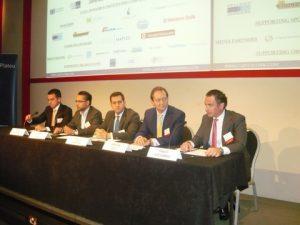 Alexis Atteslis, Akbar Rafiq, Paulo Almeida, Andrian Dacy with moderator Panos Katsambas