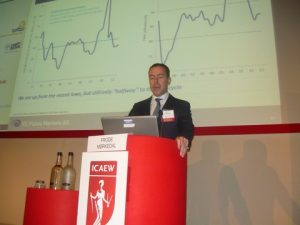 Frode Morkedal delivering his overview on the dry bulk sector