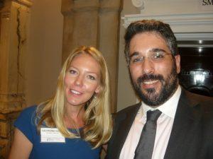 Georgina GAvin from VesselsValue with Nicholas M. Petrakakos of Z Capital Partners