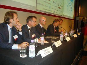 Christos G. Economou, Steffen Foreid, , Tony Lauritzen and moderator Douglas Mavrinac