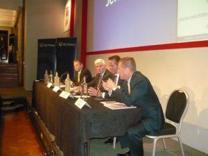 l to r: Lars Vang Christiansen, John Lycouris, Christian Andersen and Douglas Mavrinac
