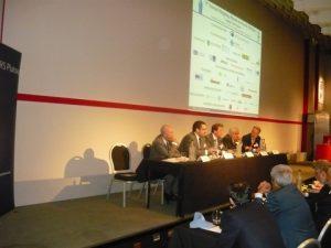 George Saroglou, Emanuele Lauro, Svein M. Harfjeld, Mrco Fiori and moderator Herman Holdan