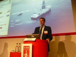 Anders Bergland overviewing the sector