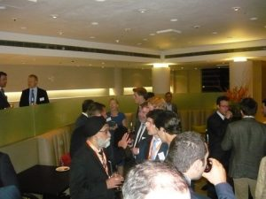A view from the Cocktail Reception where networking was at the fore, sponsored by Holman Fenwick Willan
