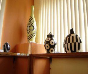Examples of Chulucanas ceramics. Photo by Guillermo Arévalo Aucahuasi.