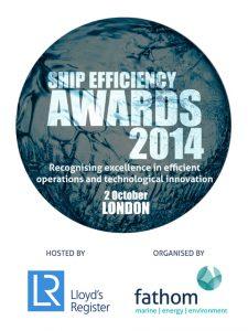 SHIP EFFICIENCY AWARDS 2014 LOGO
