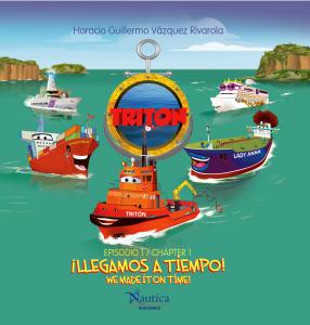 Triton the Tug -- cover of Spanish language edition