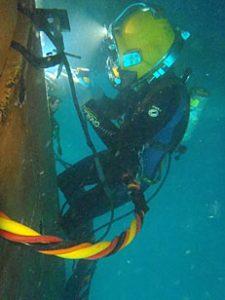 Underwater-wet-welding