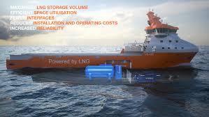 Illustration of LNGPac vessel