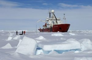 In August the bow area of the underwater hull of Royal Research Ship (RRS) James Clark Ross was coated with Ecospeed. The ship is operated by British Antarctic Survey (BAS).
