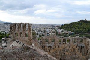 The Herodis Atticus ancient theatre