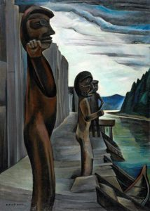 Blunden Harbour, c 1930. Oil on canvas. By Emily Carr. National Gallery of Canada, Ottawa.