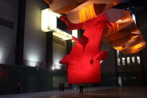 Richard Tuttle's installation at Tate Modern.