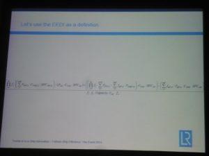 Argyros' special EEDI formula