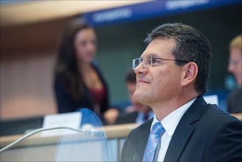 Commissioner-Designate for Transport and Space Maroš Šefčovič