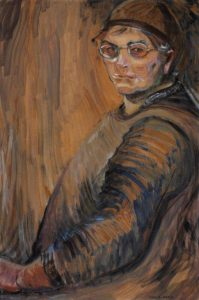 Emily Carr, Self-portrait, 1938-39. Oil on wove paper, mounted on plywood. National Gallery of Canada, Ottawa. Gift of Peter Bronfman, 1990.