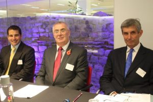 AAA panel, left to right, Tristan Miller, Keith Sturges, Paul Silver