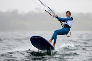 Florian Gruber at Sailing World Cup Melbourne