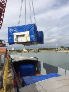 The 1, 000+ tonne metal press travelled by water and road to reach its final destination at the Volvo Car Corporation's works in Olofström, Sweden. Another complex job completed by GAC's Project Logistics experts.