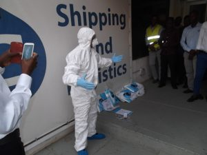 GAC staff in Angola and Nigeria have been briefed on precautions to prevent the spread of the Ebola virus.