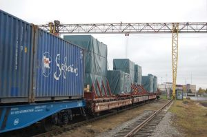 The train departs from Vostochniy every Sunday, arriving at the GCS-owned MANP terminal in Moscow 11 days later.