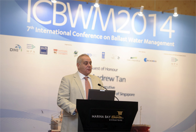 IMO's Stefan Micallef, Director, Marine Environment Division