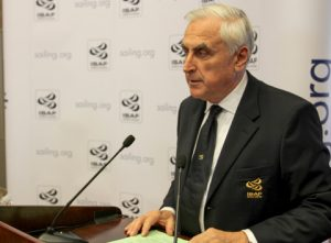 ISAF President Carlo Croce at the 2014 ISAF Annual Conference