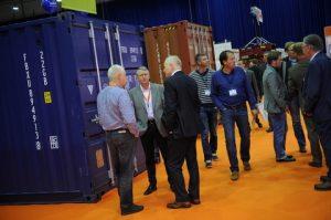 Intermodal Europe 2014 Exhibition container park