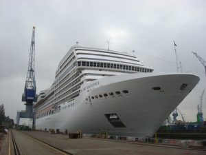 another view of the MSC Magnifica