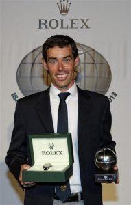 Mat Belcher receives the 2013 award