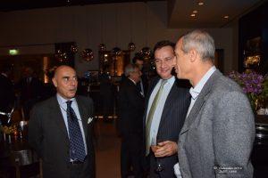 Mr. Ugo Salerno, Mr. Spyros Capralos & Mr. Aristides Pittas
