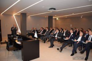 Mr. Ugo Salerno as speaker - General view
