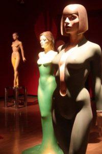 Dazzling dolls: sculptures by Allen Jones.