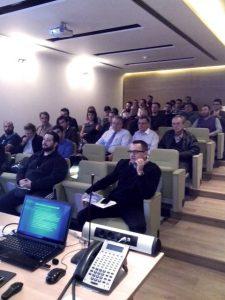 Seminar participants at Neda Maritime Agency Co Ltd