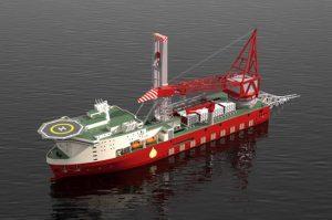 Ulstein-to-Design-Petrofac-JSD-6000-Ddeepwater-Derrick-Lay-Vessel